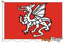 -ENGLISH PENDRAGON ANGLO SAXON A  ANYFLAG RANGE - VARIOUS SIZES